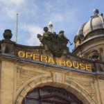 Picture showing the facade at Buxton Opera House